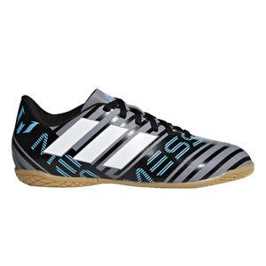 798f18903 adidas Nemeziz Messi Tango 17.4 in Junior Indoor Football BOOTS Grey ...