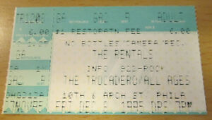 1995-THE-RENTALS-TROCADERO-PHILADELPHIA-CONCERT-TICKET-STUB-MATT-SHARP-WEEZER