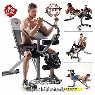 Workout Bench Weight Home Gym Fitness Exercise Training Arm Chest Legs Incline 803173460059 Ebay