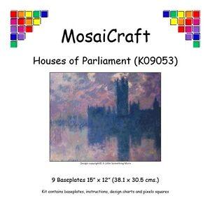 MosaiCraft-Pixel-Craft-Mosaic-Art-Kit-039-Houses-of-Parliament-039-Pixelhobby