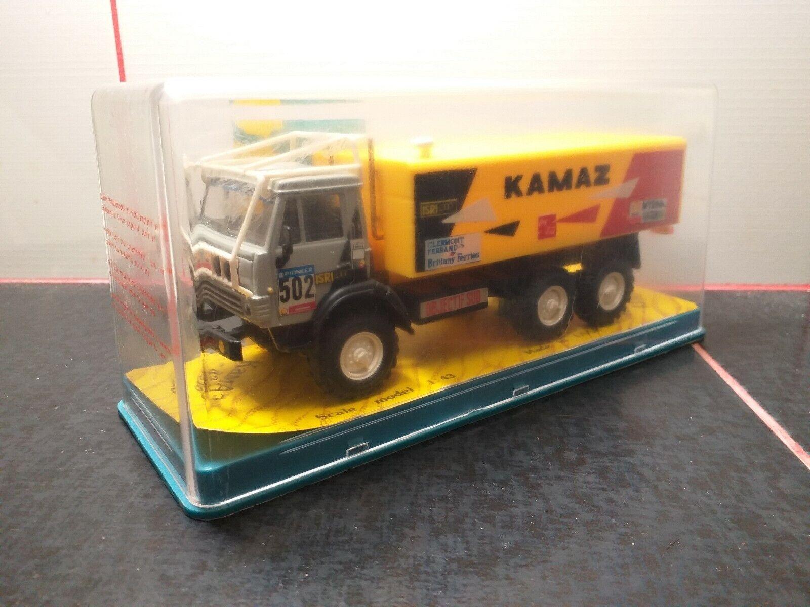 RARE KAMAZ - 4310 1 43 Rallye  502 made in URSS APEK
