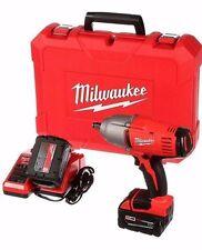 "Milwaukee 2663-22 18V M18 Lithium Ion 1/2"" Impact Wrench Kit 2663-20 - NEW !!!!"