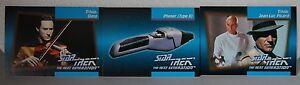 Impel 1992 Star Trek la Siguiente Generación X 3 No's 067 , 112 & 114 Ver Debajo
