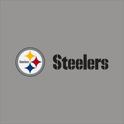 Pittsburgh Steelers Logo Vinyl Sticker Decal *SIZES* Cornhole Truck Wall