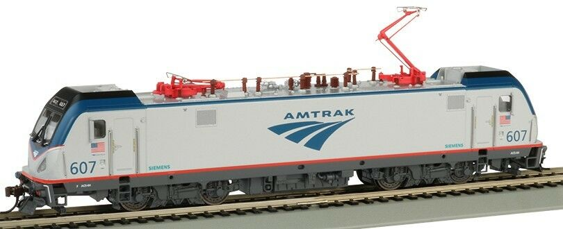 Bachmann HO ACS64 Siemens Electric Locomotive DCC Sound Amtrak  607 BAC67401