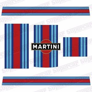 porsche 991 or 997 martini le mans racing stripe decal kit gt2 gt3 cup car gt ebay. Black Bedroom Furniture Sets. Home Design Ideas