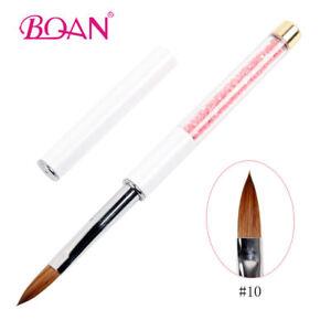 1PC-Kolinsky-Hair-Acrylic-Nail-Brush-Pink-Rhinestone-Handle-Nail-Art-Tool-10