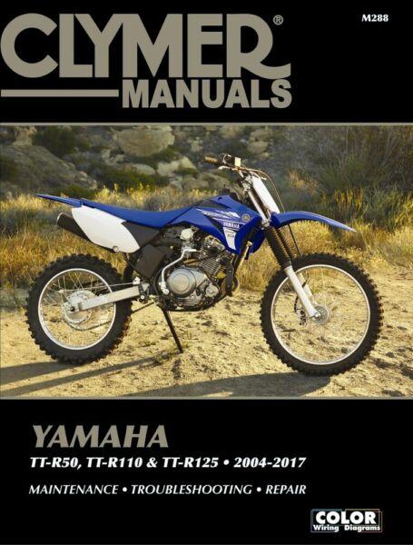2004-2017 Yamaha TTR50 TTR110 TTR125 TTR 50 110 125 CLYMER REPAIR MANUAL |  eBay | Ttr50 Wiring Diagram |  | eBay