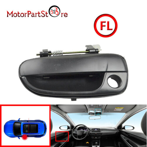 Front Outside Outer Exterior Door Handle Left Driver Side For 00-06 Accent