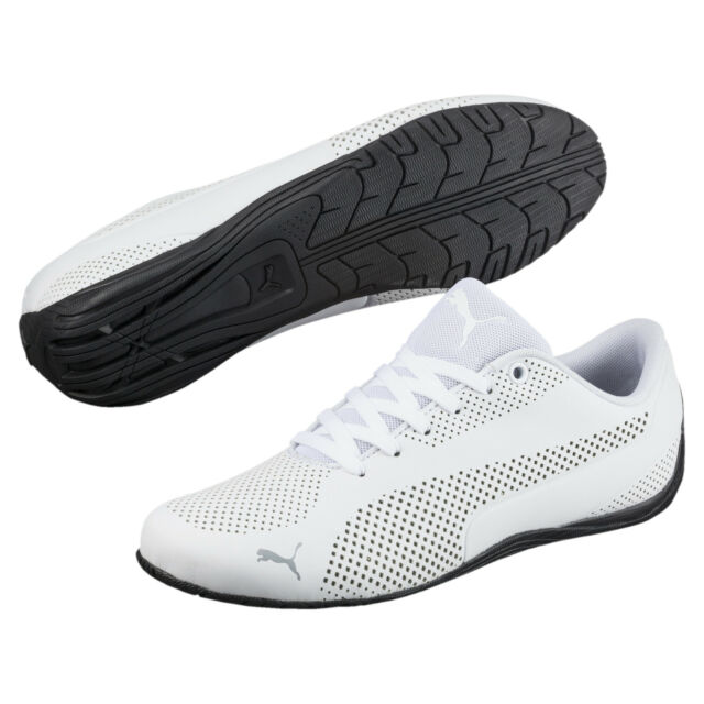 PUMA Drift Cat Ultra Reflective 36381403 Mens White Athletic Racing Shoes 10