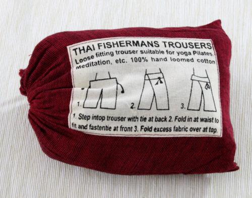 Thai Fischerhose Trouser  Fisherman Pants Yoga Hose Pilates Hose YH