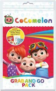 Cocomelon Grab and Go Craft Pack Colorante Actividad Adhesivo Set 3313