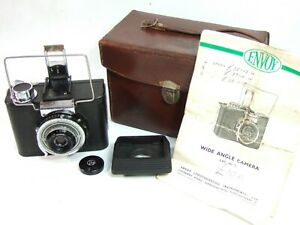 ENVOY-WIDE-ANGLE-camera-3606-Prontor-SVS-8-speed-64mm-f6-5-Taylor-Hobson-Extras