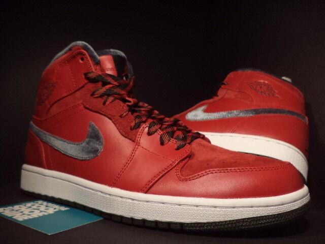 Nike Air Jordan I Retro 1 Hi Premier FIRE rouge TORO ARMY GREEN blanc  Noir NEW 12