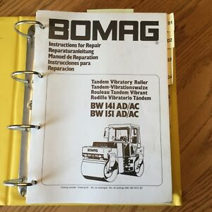 Bomag bw 100 ad,bw 100 ac,bw 120 ad,bw 120 ac drum roller service rep….