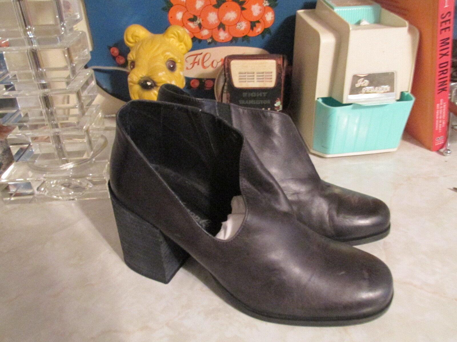 Free People  Terrah Heel Bootie Boots Size 7