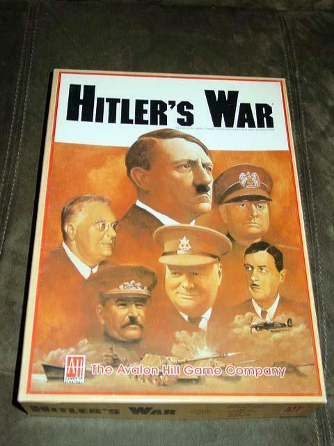 Avalon Hill - Hitler's War -Three Set Game - Charles Crain Collection (UNPUNCHD)