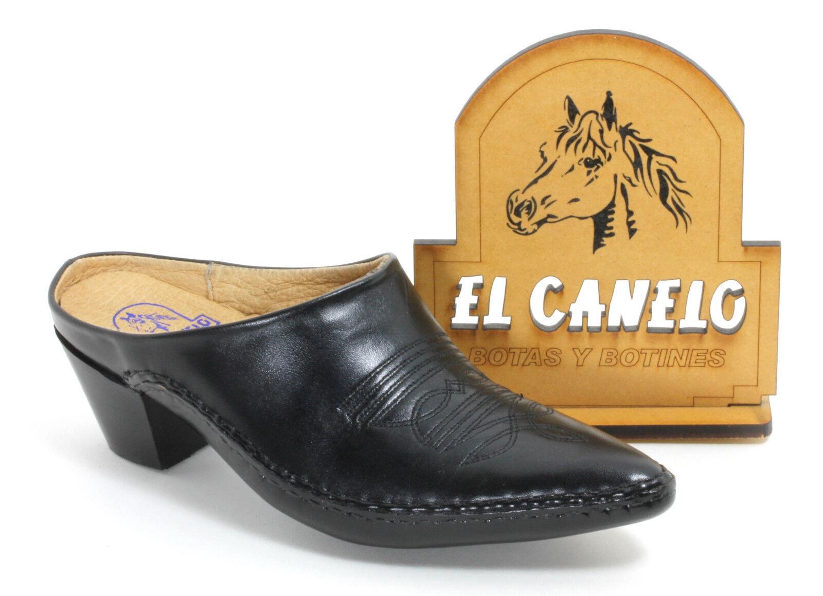 Cowboystiefel Westernstiefel Pantoletten Texas Boots Catalan Style El Canelo 35