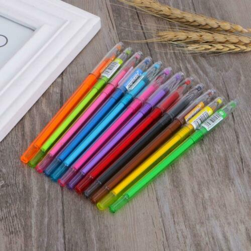 Diamond Gel Pen School Supplies Draw 12 Colored Pens Student Candy Color Gifts