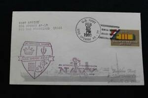 Navale-Cover-1980-Nave-Annullo-Postale-SHIP-039-S-Marchio-Uss-Sperry-AS-12-4650