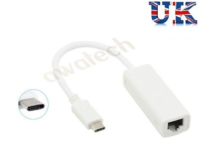 Internet Cable 15cm USB-C//Type-C to RJ45 Gigabit Ethernet Network Adapter LAN Cable