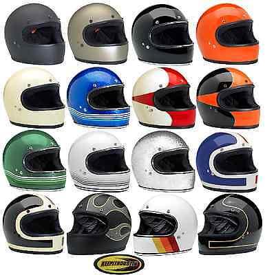 Biltwell Gringo Helmet Motorcycle Streetbike Cruiser Scooter XS S M L XL 2X