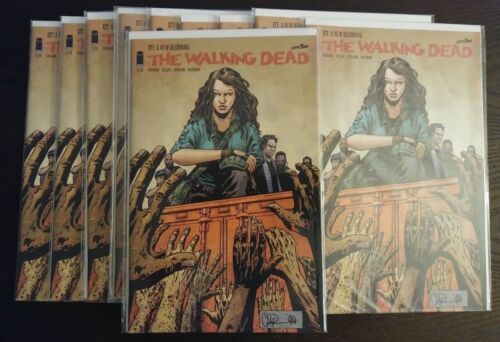 THE WALKING DEAD #127 NM 1st Print First Appearance MAGNA LOT OF 10 HOT KEY