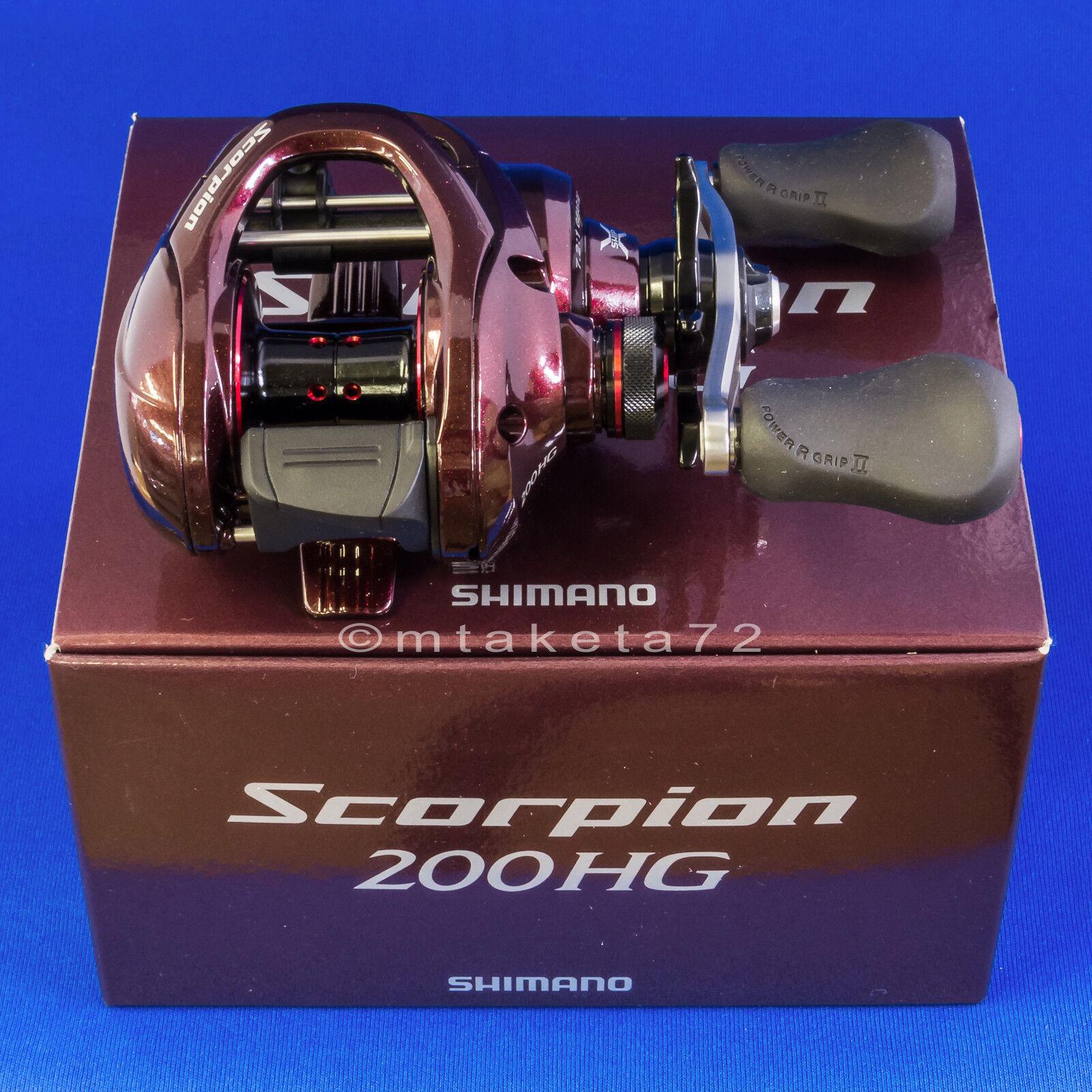 Shimano 14 Scorpion 200HG, Right Handle Baitcasting Reel Japan Model, 032256