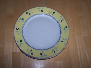 Image is loading Royal-Doulton-BLUEBERRY-Set-of-4-Dinner-Plates- & Royal Doulton BLUEBERRY Set of 4 Dinner Plates Yellow Blue A | eBay