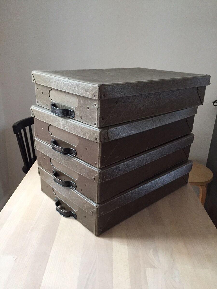 Ultramoderne Arkivkasser, Gamle – dba.dk – Køb og Salg af Nyt og Brugt BL-62