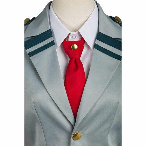 My Hero Academia Tsuyu Ochako School Student Uniform Costume Halloween  ZG9