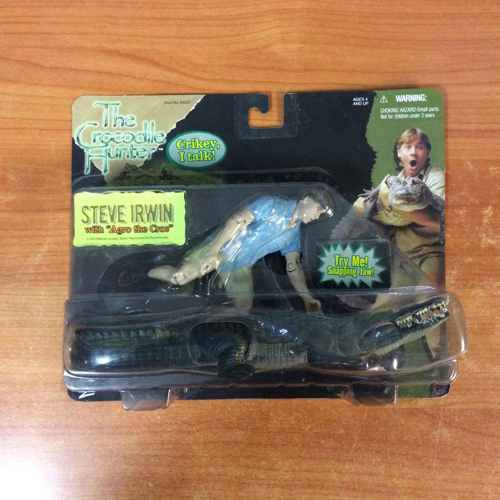 "2000 The Crocodile Hunter Steve Irvin w   w ""Argo the Croc"" - Brand New & Sealed 4cbd6b"