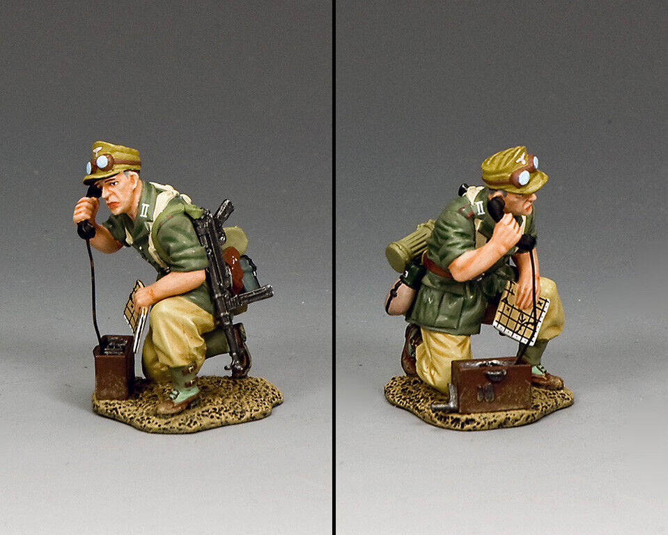 KING & COUNTRY AFRIKA KORPS AK128 A.K. BATTLEFIELD COMMUNICATIONS MIB