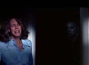 MICHAEL MYERS JAMIE LEE CURTIS Halloween 1978 8x10 Movie Film ...