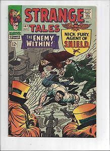 Strange Tales #147/Silver Age Marvel Comic Book/Dr.Strange/1st Kaluu/VF