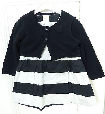 H&M Kleid & Jacke Festlich Schwarz Weiß Gr. 68 (GE163) | eBay