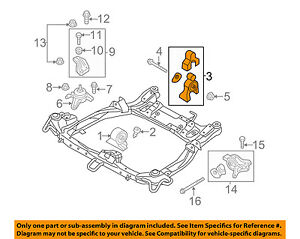 details about hyundai oem 11 14 sonata engine motor mount torque strut 219303s050 2013 Hyundai Sonata Fuses