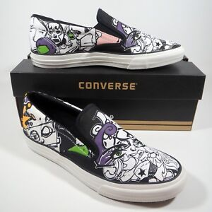 Chaussures Sneakers Slip Converse Skid Grip On Taille All 11 Star Autocollant xQrshtBdC