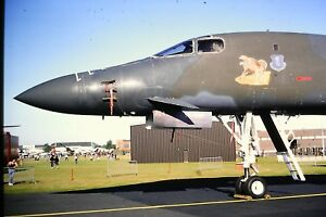3-693-Boeing-B-1-Lancer-NOSE-ONLY-Kodachrome-SLIDE