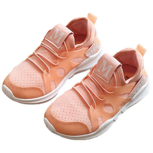 Kids Children Breathable Running Trainers Boys Girl Casual Sports Shoes Sneakers