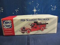 Ertl 1926 Seagrave Firetruck Coin Bank 1:30 Scale Approx. (1116) H012
