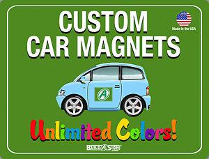 X Custom Car Magnets Magnetic Auto Truck Signs EBay - Custom car magnets