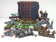 Mega Bloks Lot of Dragons Krystal Wars Warriors Weapons Base Blocks 30 Figures