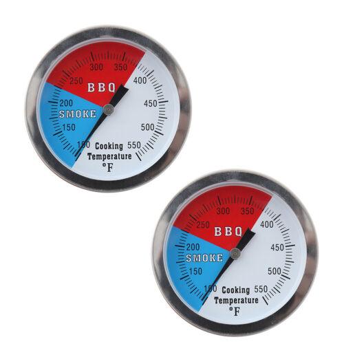 Grill BBQ Thermometer 2 Stück Temperaturanzeige Heißer Verkauf Brandneu