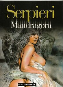 Serpieri-Mandragora-Softcover-Comic-Album-in-Topzustand