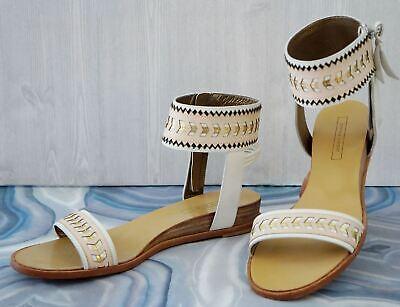 Womens Vintage White Leather Salvatore Ferragamo Classic