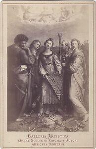 Foto Di Dopo Cruscotto Sainte Cecile Da Raphael Bologna Italia Vintage Albumina