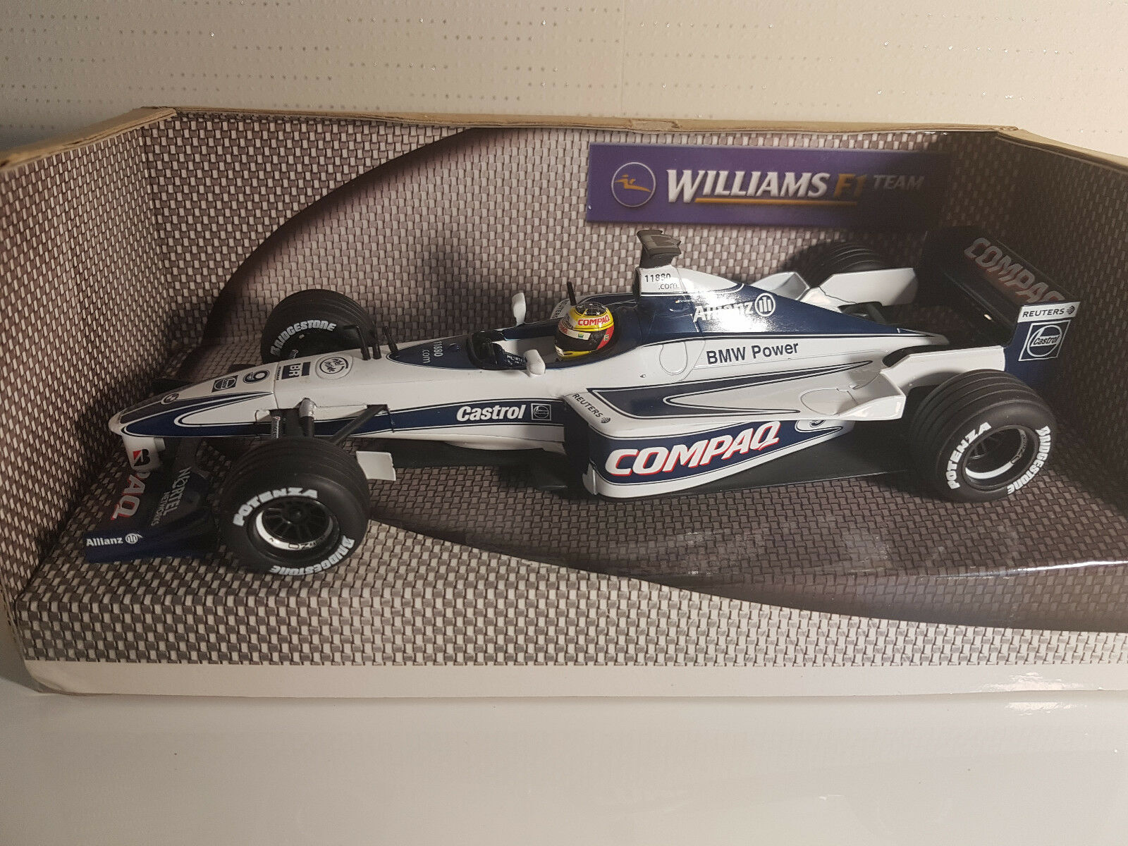 Hot Wheels formule 1 Williams Bmw Fw22 Ralf Schumacher 2000 1 24 neuf