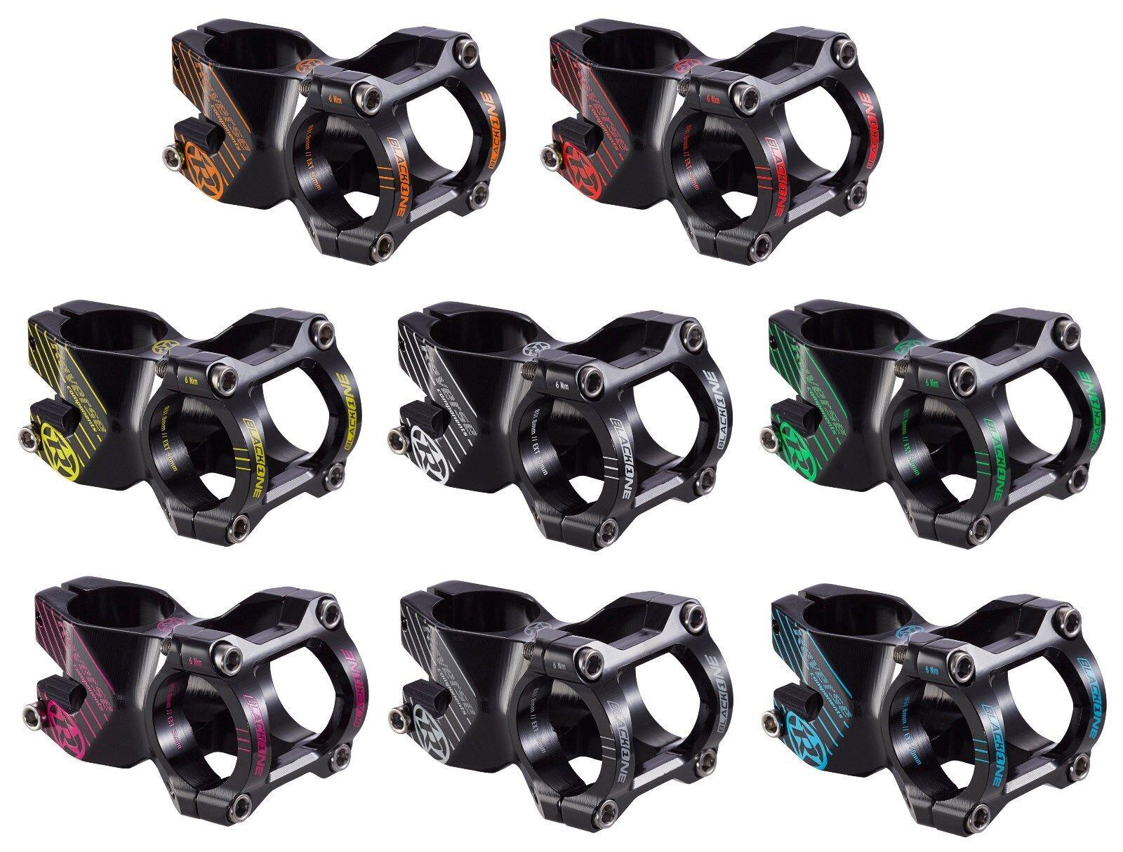 Potence REVERSE black ONE 50 mm pour 31,8 mm GUIDON EN DIVERS color