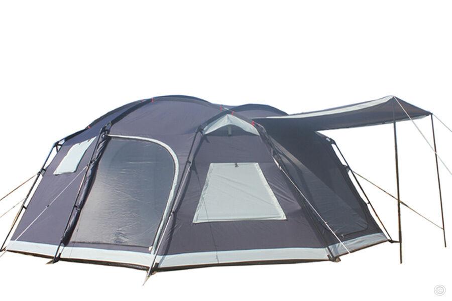 Saxur texas carpa para celebraciones familiares de camping 8-14 personas nuevo  5000mm  PVP 599
